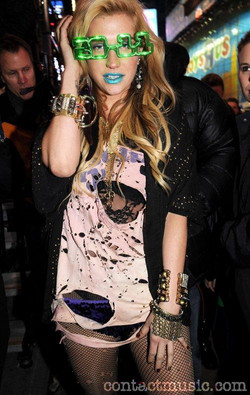 Kesha. NYC New Years Eve 2011.