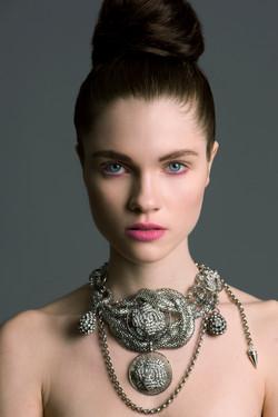 NE- SPG05. Spiro Giro necklace.