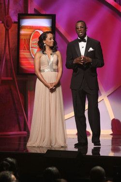 Essence Atkins. Trumpet Awards  TV1.