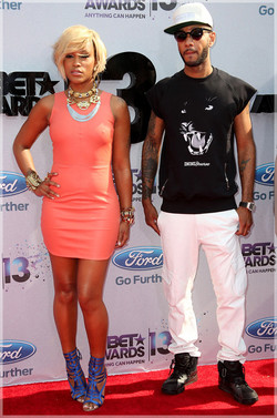 Eve & Swizz Beatz Bet Awards.