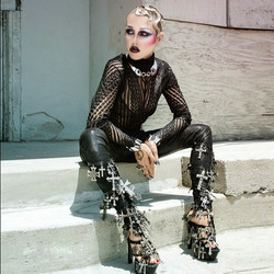 BUST Magazine. Brooke Candy.