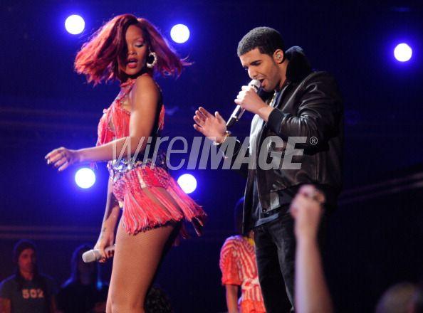 Rhianna & Drake.