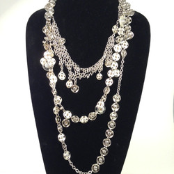 Press Stud necklace
