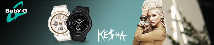 Kesha Baby G watches.