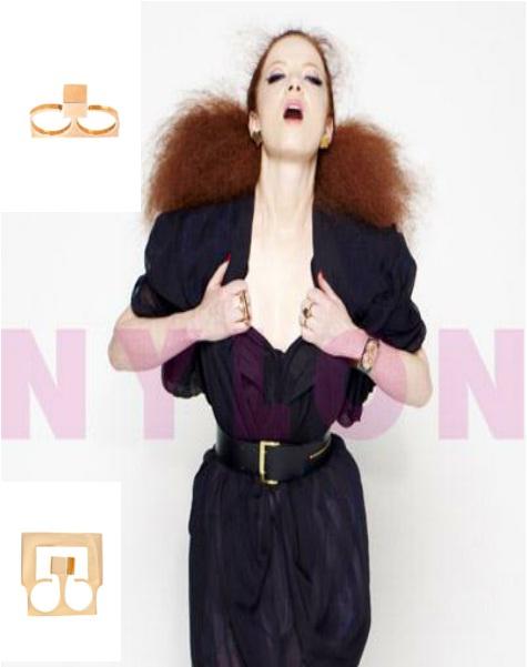 Shirley Manson .Nylon Magazine.