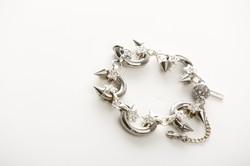 HG-BR10. Stars & Spikes bracelet