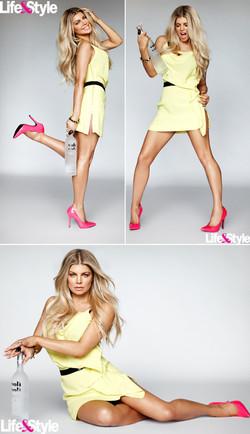 Fergie.Voli Vodka Campaign.