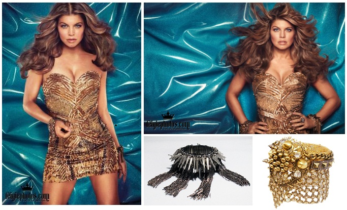 Fergie .Avon Hair color campaign.