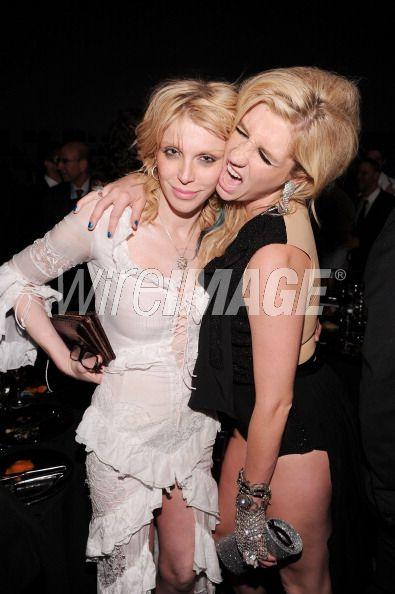 Kesha and Courtney Love.