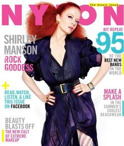 Shirley Manson. Nylon Magazine