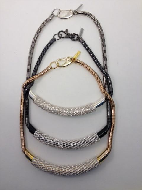Tubeway Army necklaces.
