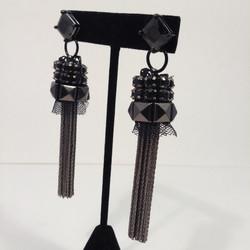 Pola Negri earrings.