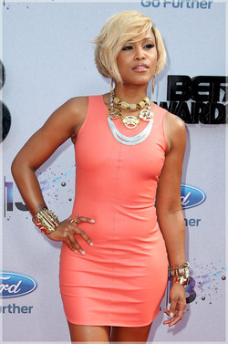 Rapper EVE . BET Awards Arrivals