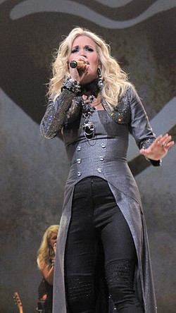Portland Tour .Carrie Underwood.