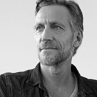 Black & White Portrait of a Man