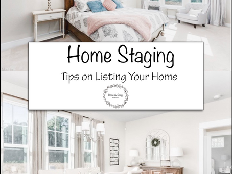 Home Staging - Tips on Listing Your Home