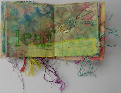 Fabric Book of Spring