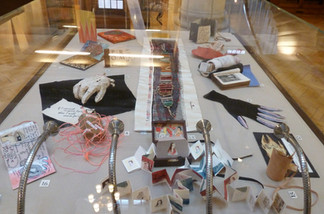 Marches Book Arts Group display