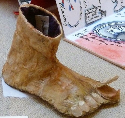 Victor's Right Foot by Ann Paterson