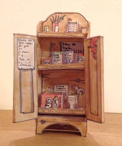 The Artist's Studio Cupboard