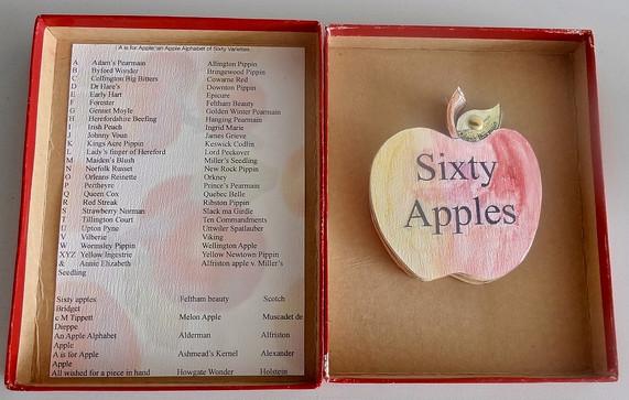 60 Apples: A New Herefordshire Pomona