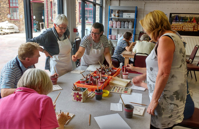 Jackfield Tile Workshop, Ironbridge