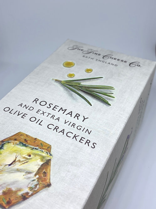 The Fine Cheese Co. Rosemary & Extra Virgin Olive Oil Crackers 125g
