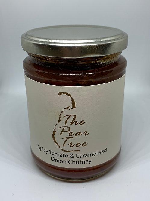 Spicy Tomato & Caramelised Onion Chutney