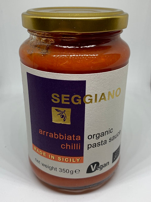 Seggiano Arrabbiata Chilli Organic Pasta Sauce 350g