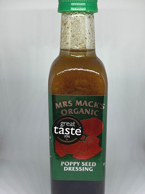 Mrs Mack's Organic Poppy Seed Dressing 200ml
