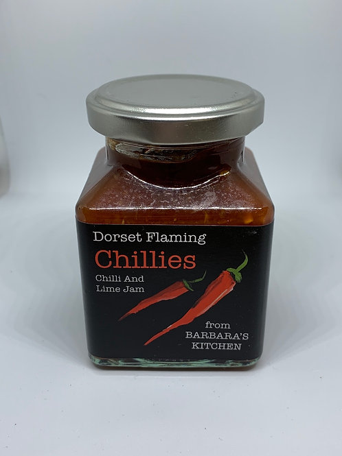 Barbara's Kitchen Chilli And Lime Jam 200g
