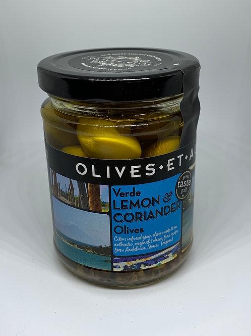 Olives Et Al Verde Lemon & Corriander Olives