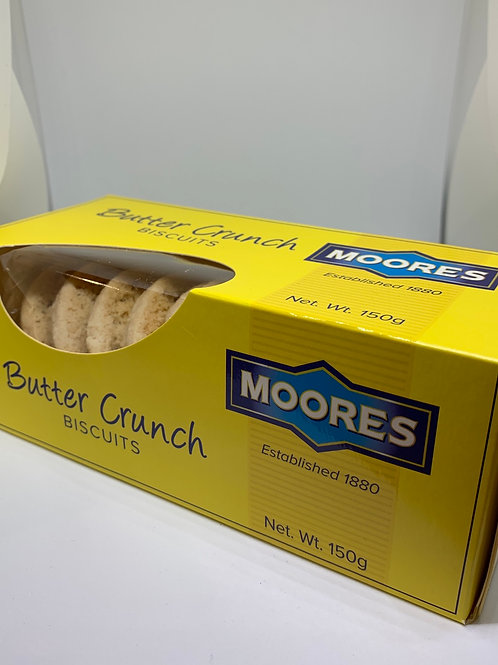 Moores Butter Crunch Biscuits 150g