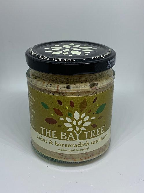 The Bay Tree Cider & Horseradish Mustard 190g