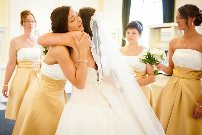 Working On Friends Weddings
