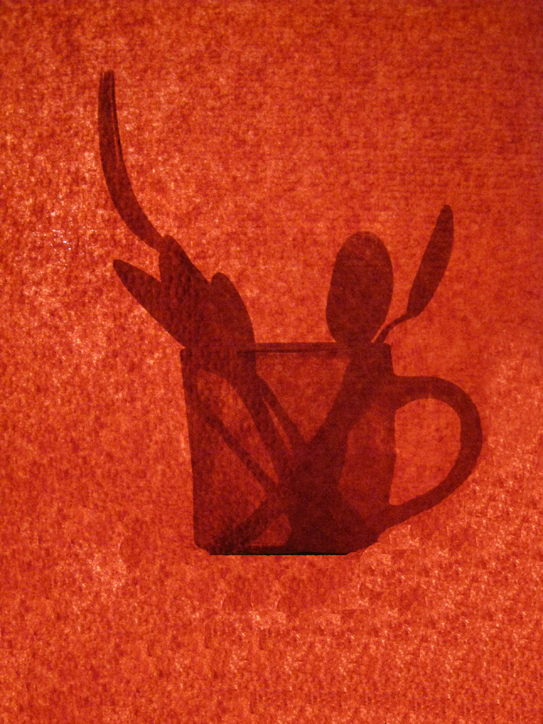 Tasse+couver/Rouge