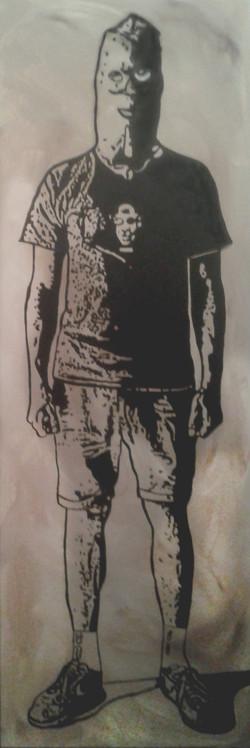 Monument Man 02 in Black & White