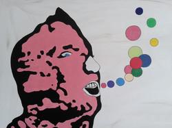 Détail 1, Pink's Words