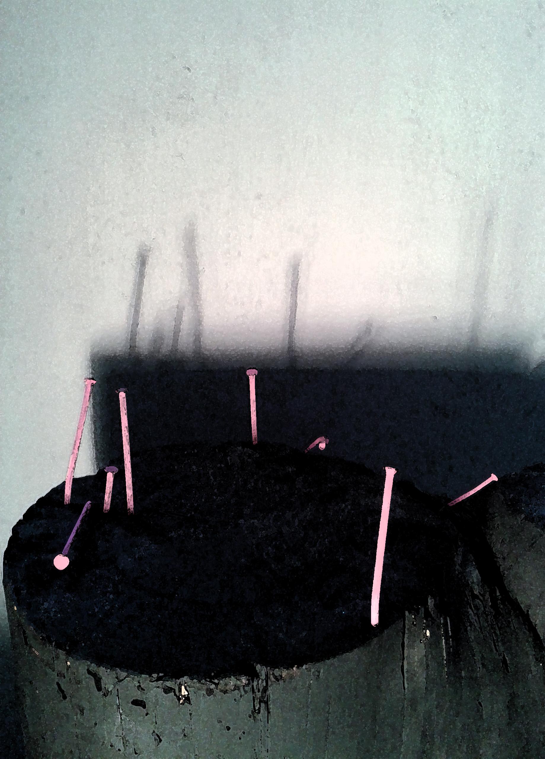 Forêt de Clous Pink débouts