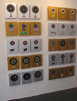 Installation Mur Erases Disc