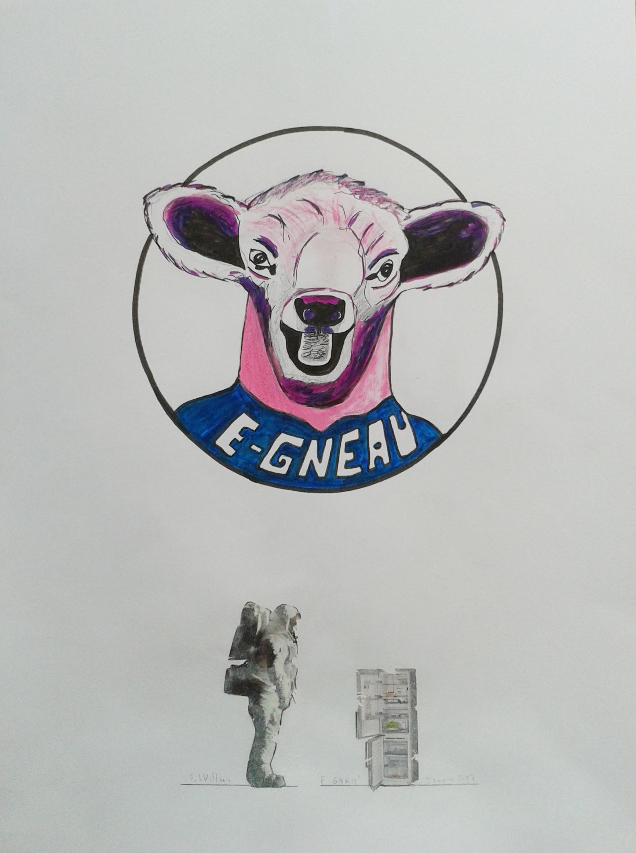 Détail 1, E-Gneau