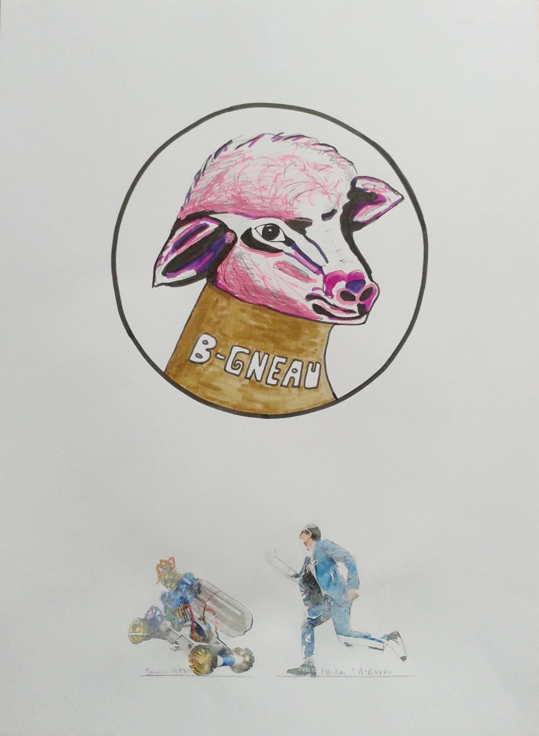 Détail 1, B-Gneau