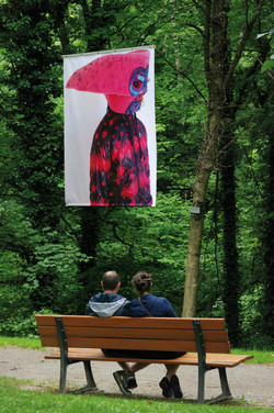 Outdoor exhibition, Les singuliers,