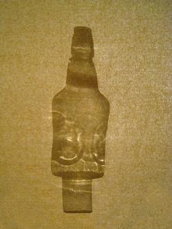 Verre+bouteille/Beige