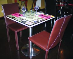 Table n°2 en situation
