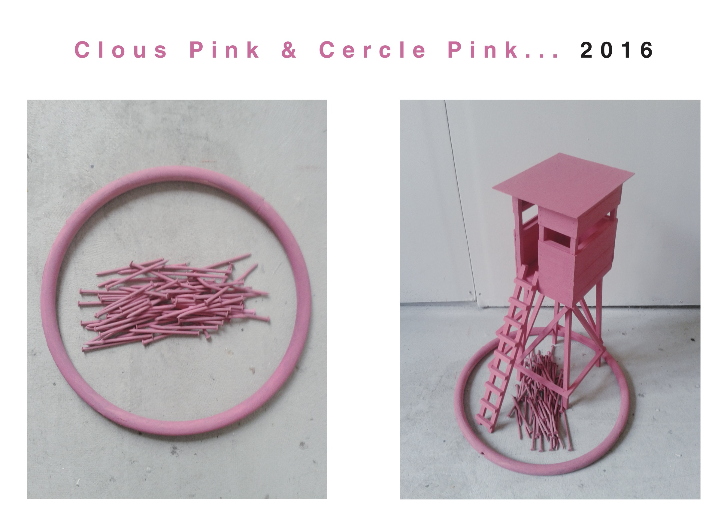 Clous & Cercle Pink