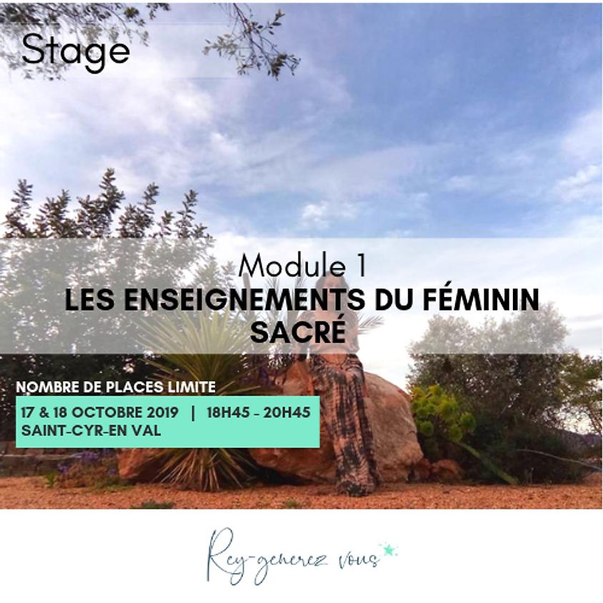 STAGE - Les Enseignements du Féminin sacré - MODULE 1