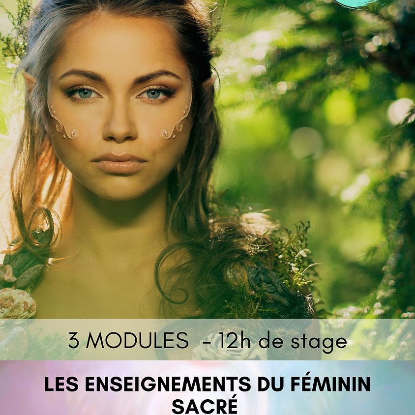 STAGE - Les Enseignements du Féminin sacré - MODULE 2