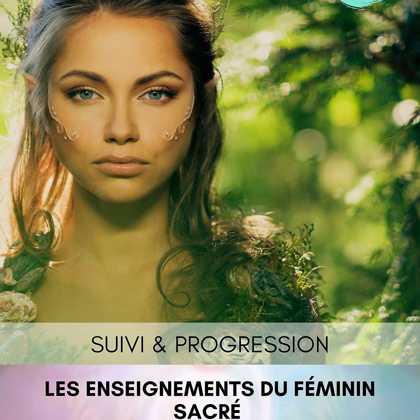 STAGE - Les Enseignements du Féminin Sacré - SUIVI et PROGRESSION