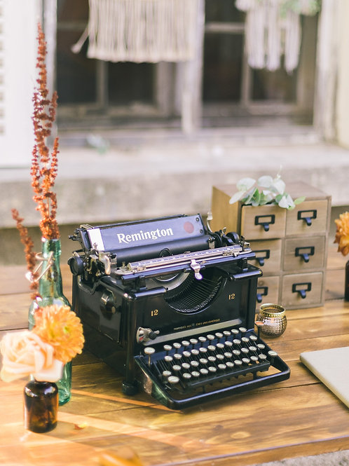 La machine à écrire Remington